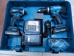 NEW--MAKITA COMBO DRILL HAMMER IMPACT SET WITH CASE Greensborough Banyule Area Preview