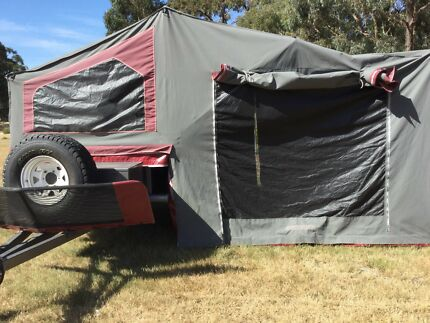 Camper Trailier FAMILY OFF ROAD Sunset Bushmaster Deluxe