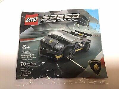 LEGO 30342 Speed Champions Lamborghini Huracan Super Trofeo EVO Factory Sealed