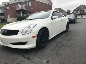 Infiniti G35 coupe pear white !