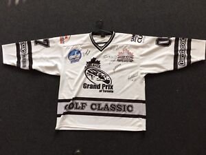 GP of Toronto Steelback SIGNED NHL hockey legends jersey