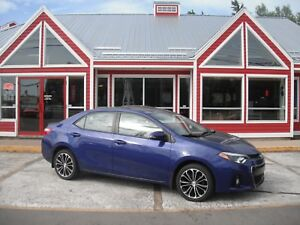 2015 Toyota Corolla SUNROOF HEATED LEATHER BACKUP CAMERA AIR CRU