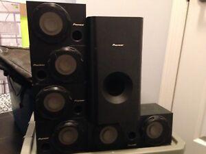 Pioneer surround sound home theatre system