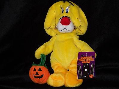 Sylvester Cat Tweety costume bean bag plush doll Warner Store Looney Tunes RARE - Bean Bag Costume