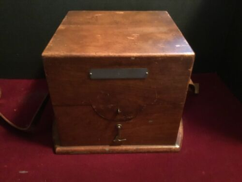 World War II Hamilton Watch Company Model 22 Deck Watch BOX  Only