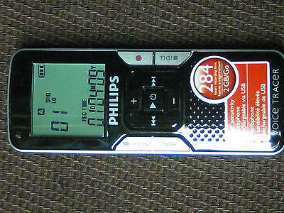Philips Voice tracer 662, Voice Recorder  2GB 284 hours record time