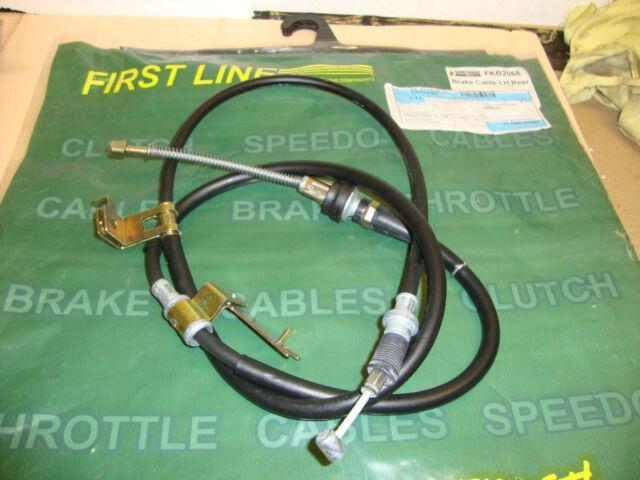 FIRST LINE FKB2065 HAND BRAKE CABLE L/H MAZDA 626 1.8i HATCHBACK 1997~2002