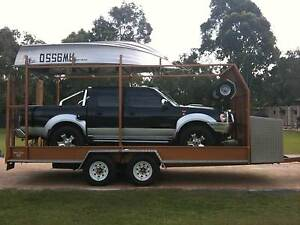 TANDEM CAR TRAILER RATED TO 3500KG Dundowran Fraser Coast Preview