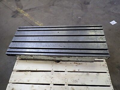 47 X 18.5 X 7.75 Steel Weld T-slot Table Cast Iron Layout 6 Slot Jig