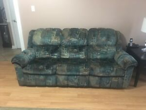 3 seat recliner sofa couches great condition