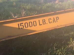 15000lbs crane for sale