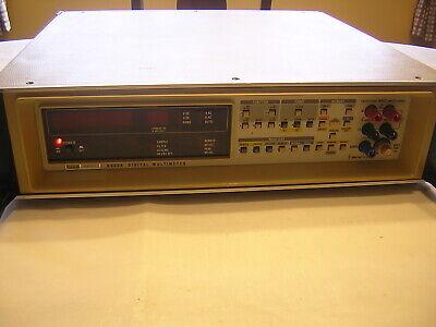 Fluke 8502a Digital Multimeter - Dmm - Parts Or Repair