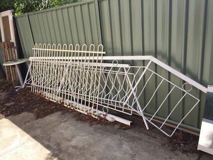 Steel balustrade  - FREE