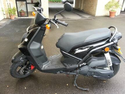 Yamaha BWS 125 2013. Barely Ridden Cammeray North Sydney Area Preview