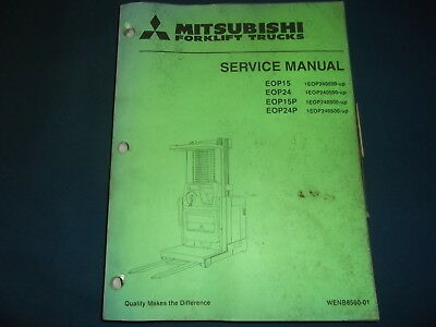 Mitsubishi Eop15 Eop24 Eop15p Eop24p Forklift Service Repair Workshop Manual