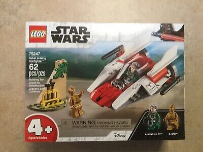 New 2019 LEGO Star Wars Rebel A-Wing Starfighter #75247 (Retired)
