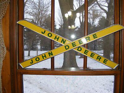 John Deere Side Emblem Ar28049 Left And Right Side
