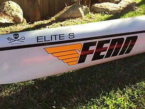 Fenn Elite S vacuum carbon surf ski Seventeen Mile Rocks Brisbane South West Preview