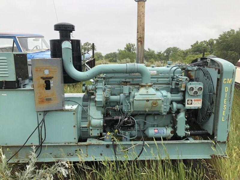 671 detroit diesel generator 3 phase