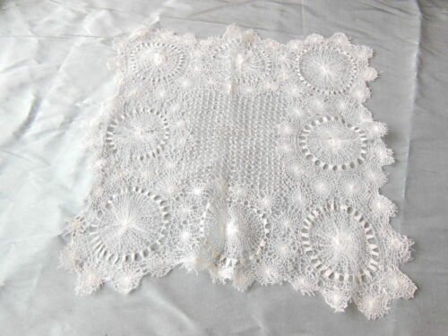 Antique Fine and Intricate Lace Panel/Mat