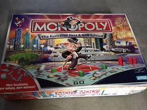 Monopoly Board Game Dural Hornsby Area Preview