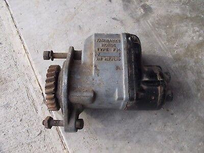 John Deere 2 Cylinder Ih Allis Chalmers Tractor Fb Morse Jv487 Magneto W Drive