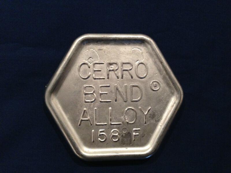 Cerrobend 1 lb. ingot Low Melting Temperature Alloy