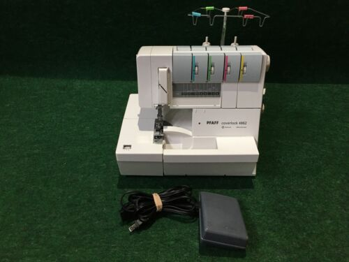 PFAFF Coverlock 4862 Serger Sewing Machine and Ft Controller #3
