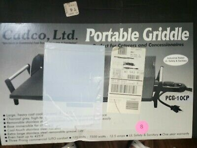 Stainless Steel 425 Electric Griddle Grill Bbq Plate Commercial Tool New In Box
