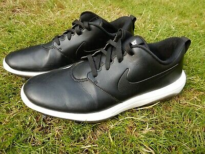 Nike Roshe Tour Golf Shoes 8.5 Black Spikes 43