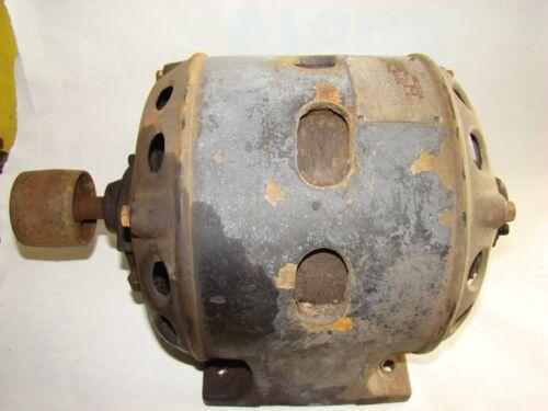 Century 1914/1915 Antique / Vintage Repulsion Induction Electric Motor Runs