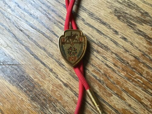 1988 ROYAL RANGERS FCF National Rendezvous Bolo Tie