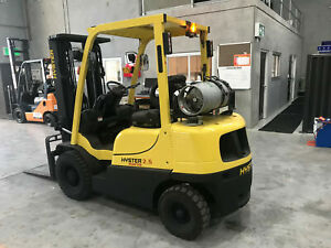 Hyster 2.5 Ton Container Mast Forklift Fully Repainted with Side Shift Luscombe Gold Coast North Preview