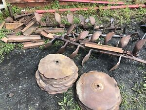 Disk tractor parts