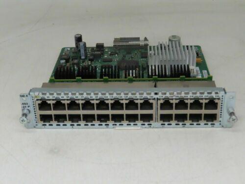 Cisco SM-X-ES3-24-P 24-Port GbE POE+ Capable Layer 2/3 LAN SM-X EtherSwitch KAJ