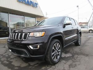 2018 Jeep Grand Cherokee Limited *COMME NEUF*
