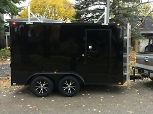 6x12 Twin-Axle   CONTRACTOR PACKAGE   ***Blackout Package***