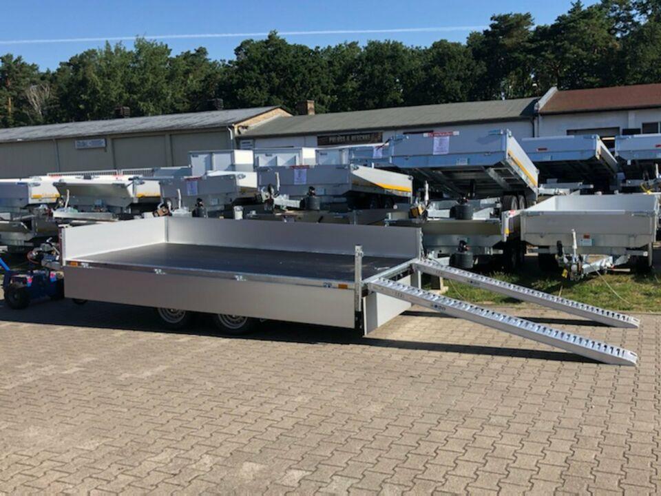 Anhänger⭐Saris Transporter PL 356 184 3500 2 Achsen Hochlader NEU in Schöneiche bei Berlin