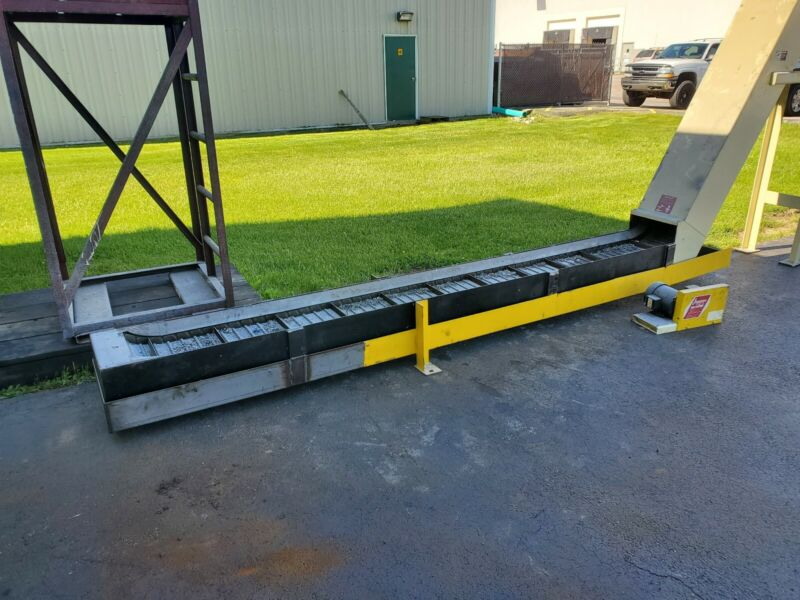 "Jorgenson Conveyor  Overall Dimensions 25"" Wide, 10"