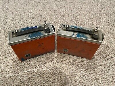 Lot Of 2 Metrotech 810 Locator Transmitter Units Unable To Test As Is Read