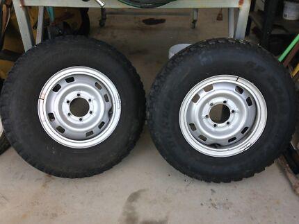 4wd rims & tyres