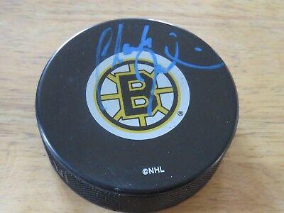 Coach Claude Julien Signed Boston Bruins Puck Coa Stanley Cup Champions