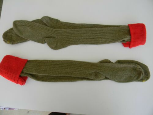 Genuine Vintage Boy Scout Socks Knee High