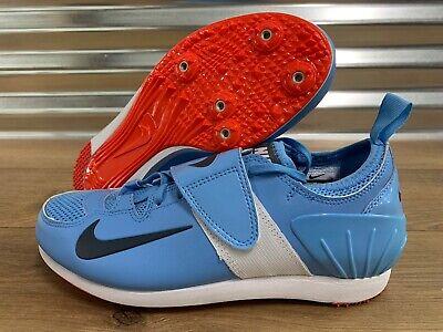 Nike Zoom PV II Pole Vault Track Spikes Blue Black White SZ ( 317404-446 )