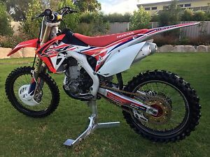 2015 CRF450R Stanthorpe Southern Downs Preview