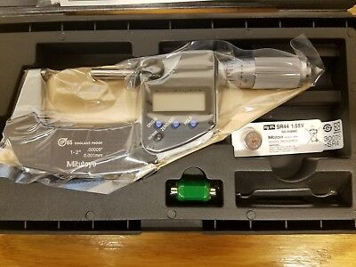 Mitutoyo 239-336-30 1-2 Electronic Ip65 Micrometer .0005 - New