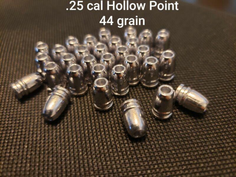 .25 Cal Air Gun Pellets/Slugs Hollow Point 44 Grain