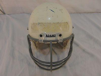 Football Helmet Decorations (Adams USA White Youth Football Helmet great 4 Projects Paint decorate man)