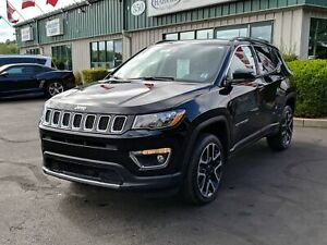 2018 Jeep Compass Limited NAVIGATION/REMOTE START/PANORAMIC S...