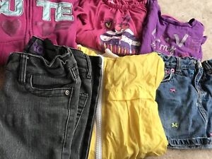 Lot of girls clothing 7 pieces